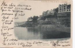 Publicité CHOCOLAT Et THE De La Coloniale - Cote D'émeraude -  Dinard - Bric à Brac - Publicité