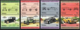 TUVALU Automobiles, Voitures, Cars, Coches, YVERT N°307/14 **  MNH - Coches