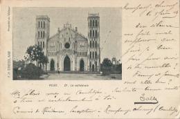 INDOCHINE CAMBODGE KESO La Cathédrale Cachet Paquebot N°3 - Cambodia