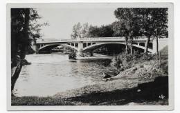 (RECTO / VERSO) BRIVE EN 1949 - N° 49 - PONT DE LA BOUVIE - FORMAT CPA - Brive La Gaillarde
