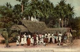 NATIVE HUTS IN THE JUNGLE - Sri Lanka (Ceilán)