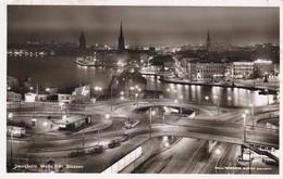 SUEDE----STOCKHOLM?   MOTIV FRAN SLUSSEN-----voir 2 Scans - Suède
