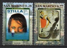 Saint-Marin - 2003 - Yvert N° 1878 & 1879 **  - Europa - Saint-Marin