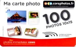 CARTE CADEAU, GESCHENKKARTE, GIFT CARD, CORA PHOTO 100 - Gift Cards