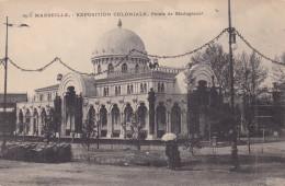EXPOSITION COLONIALE MARSEILLE PALAIS DE MADAGASCAR (dil115) - Expositions