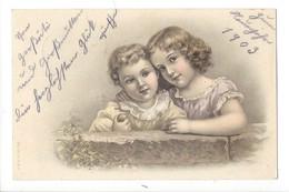 15823 - Deux Fillettes A.& M.B. N°142 - Autres