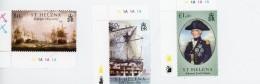 Voiliers, Trafalgar-Nelson-Sainte Helene- 2005-896/8***MNH - Ships