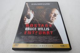 """Doppel-DVD """"Hostage / Entführt"""" Wie Weit Würdest Du Gehen, Um Deine Familie Zu Retten? Bruce Willis - Musik-DVD's"""