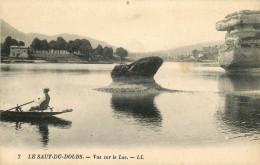 LE SAUT DU DOUBS VUE SUR LE LAC ANIMEE - France