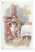 15833 -  Feiertag, Fillette Et Son Doudou B.K.W.I. 741-1 - Feiertag, Karl