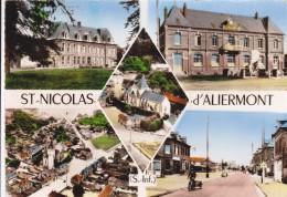 CPSM    SAINT NICOLAS D'ALIERMONT 76 - Francia