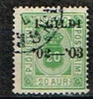 ISLANDE /Oblitérés/Used/1902/1903 - Service Surchargés - Dienstzegels