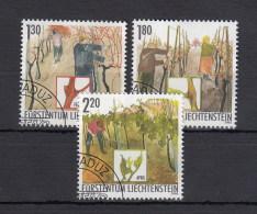 Liechtenstein Usati:  N. 1252-4  Lusso