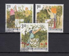 Liechtenstein Usati:  N. 1257-9  Lusso