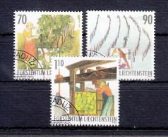 Liechtenstein Usati:  N. 1263-5  Lusso
