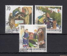 Liechtenstein Usati:  N. 1274-6  Lusso