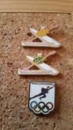 3 Pins Sur La Postechronopost Claude Benezit Et Un Arthus Bertrand - Postwesen