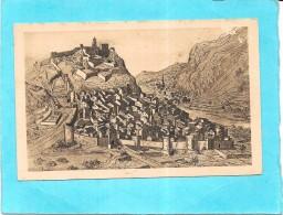 SISTERON - 04 - Aspect De La Ville Et Chateau Evéché En Provence Au XVIIème Siècle - ENCH0616 - - Sisteron