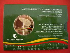 Lituanie 5 € Prooflike 2015 - Lituania