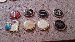 8  Pins Sur Les Signe Zodiaquale Poisson Scorpion Verseau Capricorne Beleir - Postwesen