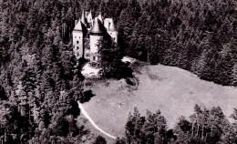 Noiretable ( Loire ) Le Château - Vue Aerienne ( Circulé En 1953 ) - Noiretable