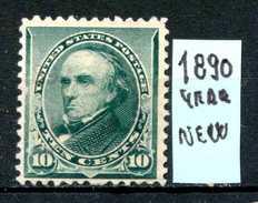 Stati Uniti - U.S.A. - Year 1890 - DANIEL WEBSTER - Nuovo - News - No Gum. - 1847-99 General Issues