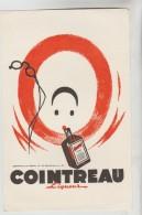 BUVARD PUBLICITAIRE ALCOOL LIQUEUR - Liqueur COINTREAU - Liquor & Beer