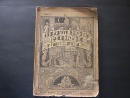 LIBRO ALMANACCO 1907 ILLUSTRATO 128 PAGINE MOLTO BELLO E RARO - Boeken, Tijdschriften, Stripverhalen