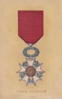 CPA - Médaille Militaire - Légion D'honneur - Militaria