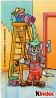 Vignette Autocollante Kinder Chocolat Tom Et Jerry - Adesivi