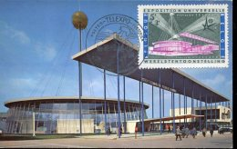 15366 Belgium,  Maximum 1958 The Pavillon Of The  World Universal Exhbition Of Bruxelles 1958, Architecture