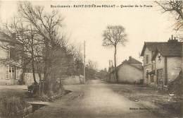 - Allier -ref-B773 - Saint Didier En Rollat - St Didier En Rollat - Quartier De La Poste - Postes - Poste - - Autres Communes