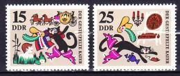 ALLEMAGNE - REP. DEMOCRATIQUE 1968 YT N° 1124 Et 1125 ** - Nuevos