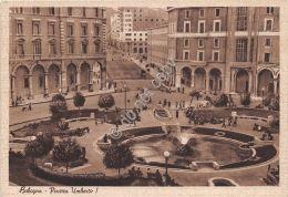 Cartolina - Postcard - Bologna - Piazza Umberto I - Animata - Anni '40 - Unclassified