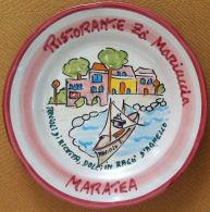 Piatto Buon Ricordo - Maratea - Z? Mariuccia - Ravioli Di Ricotta - 1991 - PRES. - Oggetti 'Ricordo Di'
