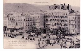Nice - Hôtel Des Anglais Et Cercle De La Méditerranée - Cafés, Hoteles, Restaurantes
