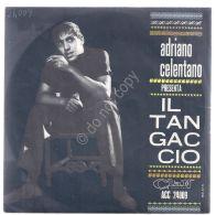 """Disco 7"""" 45 Giri - Adriano Celentano - Grazie Prego Scusi - Il Tangaccio - VG+ - Musica & Strumenti"""