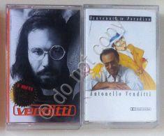 Musica Italiana - Antonello Venditti - Lotto Di 2 Cassette - 2 Cassete Lot - Non Classificati