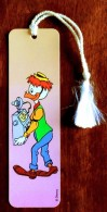 Marque-page Signet : Geo Trouvetou ( Disney ) - Fabrication Allemande - Marque-Pages