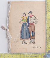 Biglietto Augurale - Vizcaya - Costumi - 1942 - Europe
