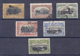 160026757   RUMANIA  YVERT    Nº  172/173/174/175/177/177a - 1881-1918: Charles I