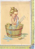 Cartolina - Postcard  - Illustrata - Bagnetto  -  Anni '40 - Unclassified