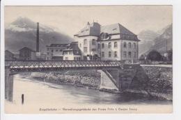 Ziegelbrucke - Verwaltungsgebäude Der Firma Fritz & Caspar Jenny. - GL Glarus