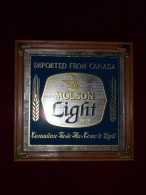 - Miroir Publicitaire - Bière MOLSON - CANADA - Année 80 - - Mirrors