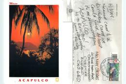 Acapulco, Mexico Postcard Posted 2007 Stamp - Mexiko