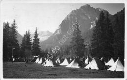 Cartolina - Postcard - Canazei - Campo Militare - Tende - 1931 - Italia