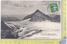 Cartolina Vallorbe - Alpes Vaudoises - Timbro Farmacia -  Vg Suisse Congo - 1909 - Postales