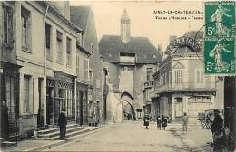 - Allier -ref-B745- Ainay Le Chateau - Charcuterie Restaurant - Hotel Du Cheval Blanc - Magasin Dayraigne - - France