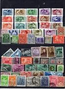 HONGRIE Lot D'une Soixantaine De Timbres - Stamps