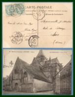 FLERS A SURDON Conv. Ligne T2A 1904 / Blanc > Sées T84 CPA Ecouché église - Marcophilie (Lettres)